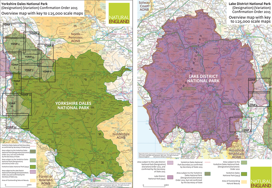 Yorkshire Dales and Lake District National Parks Extensions Come – Yorkshire Dales National Park Planning